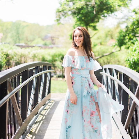 Romantic Floral Gown